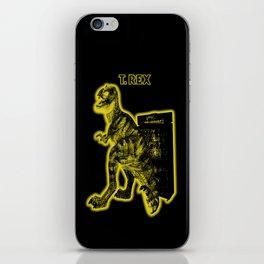 Electric Warriosaurus iPhone Skin