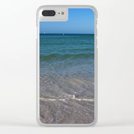 Changing Tides Clear iPhone Case