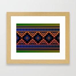 Carpet pattern Framed Art Print