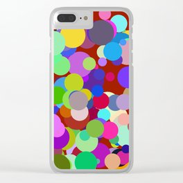 Circles #14 - 03192017 Clear iPhone Case