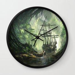 Un Pirate Wall Clock