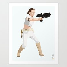 Padme of Star Wars Art Print