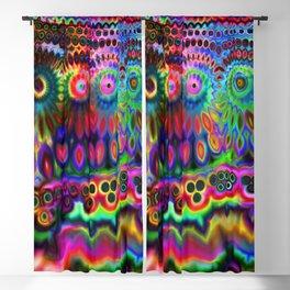 Chromatic Rainbow Warp Blackout Curtain
