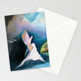 A BULLET MET BY GOD ...special edition Stationery Cards