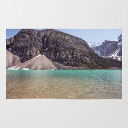 Lake Moraine | Glacier Water and Mountain Rug