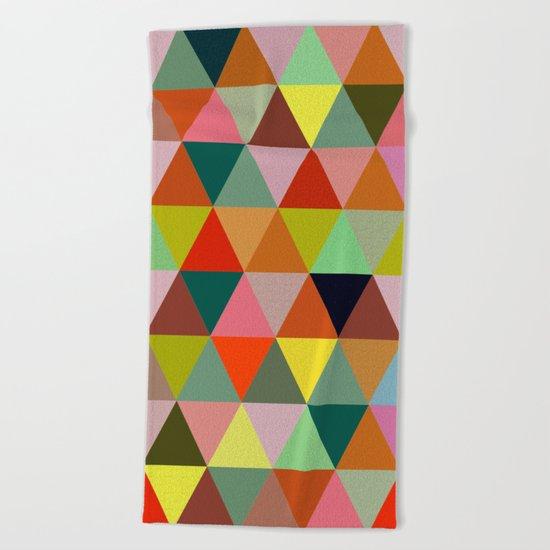 Abstract #267 Beach Towel