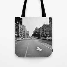 Get On Down The Road Tote Bag