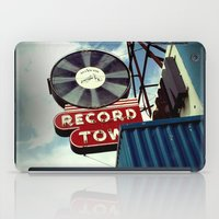 record iPad Cases featuring Record Town by Colleen G. Drew