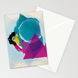 Compressed Colour Stationery Cards
