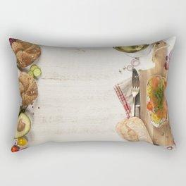 healthy sandwiches Rectangular Pillow