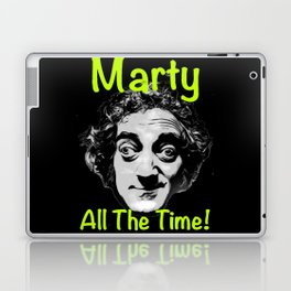 Marty All The Time Laptop & iPad Skin