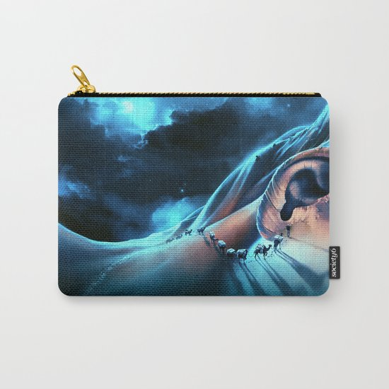 I want to talk to you Carry-All Pouch