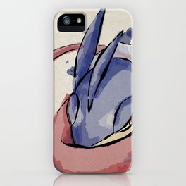 Greninja Etegami iPhone Case