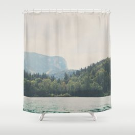 into the wilderness she went ... Shower Curtain