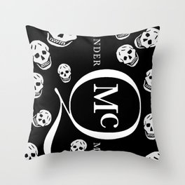 God Save ALEXANDER McQueen Throw Pillow