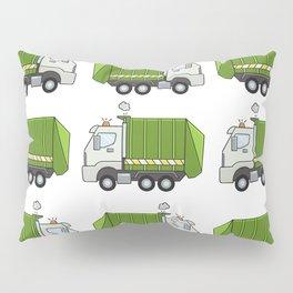 Garbage Truck Pillow Sham