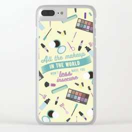 sorry not sorry Clear iPhone Case