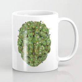 Circuit brain Coffee Mug