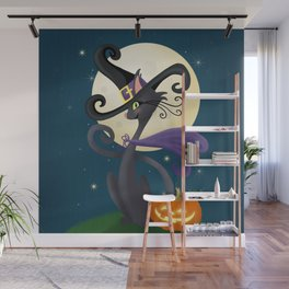 Halloween Night Magic Wall Mural