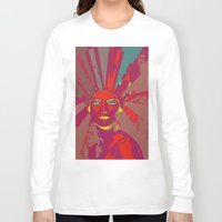 medusa Long Sleeve T-shirts featuring MEDUSA by Julia Lillard Art
