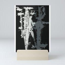 concrete yin yang Mini Art Print