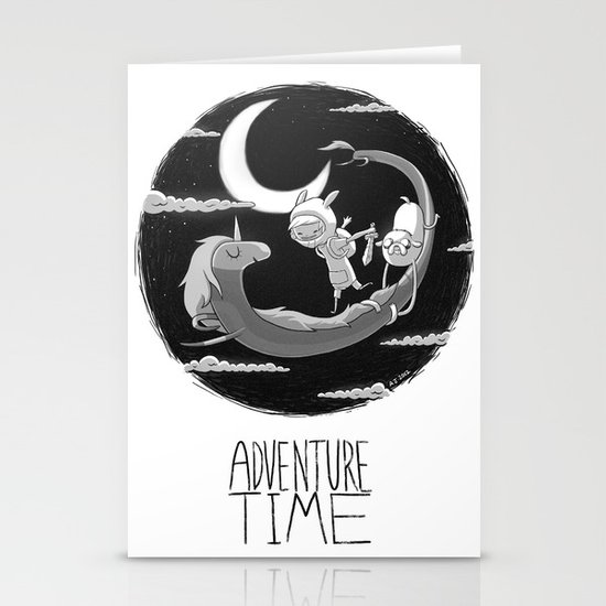 Adventure Time Stationery Cards