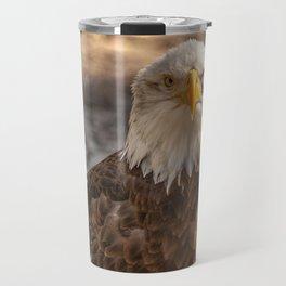 American Bald Eagle Travel Mug