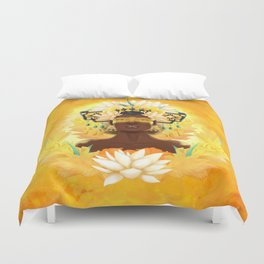 Long feast | Chiyoo Duvet Cover