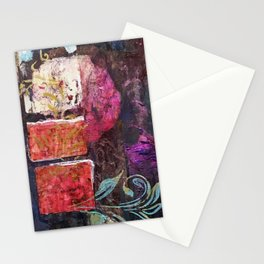Round Love in a Square Hole Stationery Cards