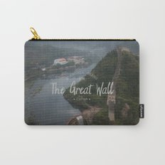 A different view of The Great Wall of China Carry-All Pouch