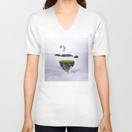 Island of Hope Unisex V-Neck