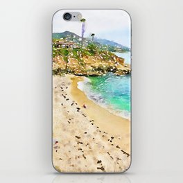Laguna Beach Coast iPhone Skin