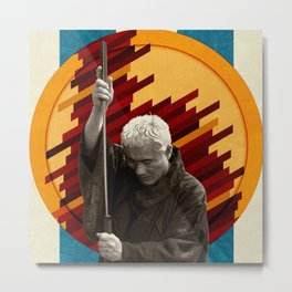 Zatoichi, the blind swordsman Metal Print