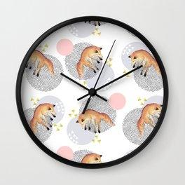 The Fox Assuption Wall Clock