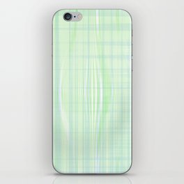 Looks like water droplet when you see from afar falling down the stripy background iPhone Skin