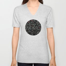 Wolf Pack Pattern Unisex V-Neck