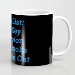 Aerialist Terminology 1 Coffee Mug