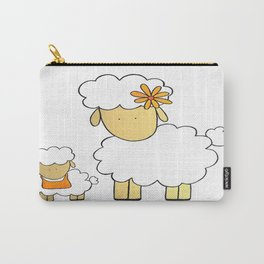 The Sheep Familly Carry-All Pouch