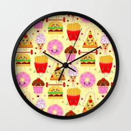 Fit Fast Food Wall Clock