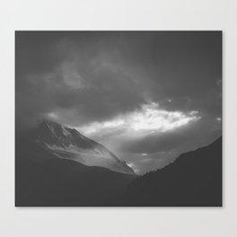 A Glimpse of Light Canvas Print