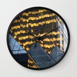 Manhattan Windows - Leopard Wall Clock