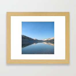 TENEYA LAKE Framed Art Print