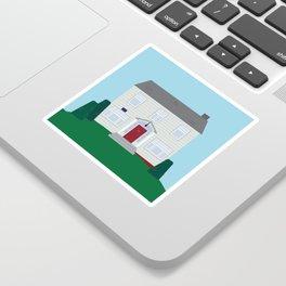Daily Orange House Sticker