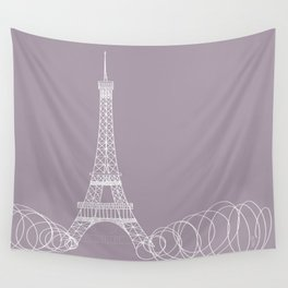 Paris by Friztin Wall Tapestry