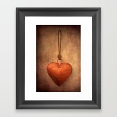 For Valentin Framed Art Print