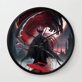 Bloodborne Wall Clock