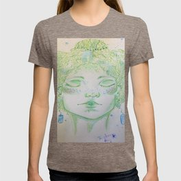 A woman of Crystals T-shirt