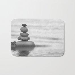 Seaside Harmony Zen Pebble Bath Mat