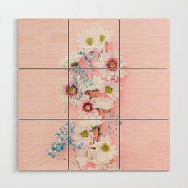 Sprig Flowers Wood Wall Art