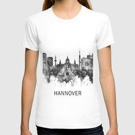 Hanover Germany Skyline BW T-shirt